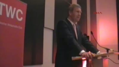 Eski Cumhurbaşkanı Wulff Türk Ekonomi Kulübünde Konuştu