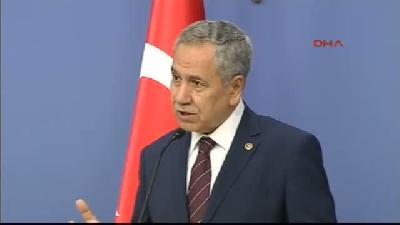 Başbakan Yardımcısı Bülent Arınç, Bakanlar Kurulu Sonrası Konuştu (açıklaması) 2