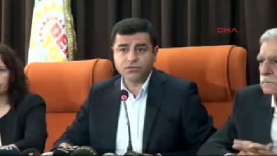 3// Demirtaş, Işid'e Karşı 'kürt Ordusu' Önerdi