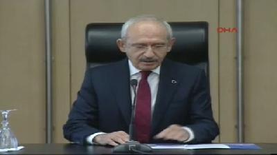 Kılıçdaroğlu: Davutoğlu'nun Bir Başbakan Gibi Davranmasını Kukla Başbakan Olmasını İstemeyiz