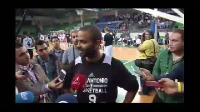 San Antonio Spurs'ün oyun kurucusu Parker - İSTANBUL