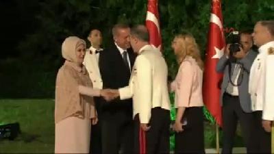 1 Çankaya Köşkü'nde Cumhurbaşkanı Erdoğan'ın Ev Sahipliğinde İlk Resepsiyon Gerçekleşti