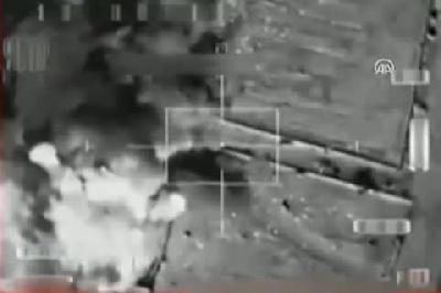 Mali bombardımanından ilk görüntüler