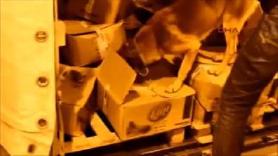 Islak Mendiller Arasına Gizlenmiş 56 Kilo Eroin Ele Geçirildi