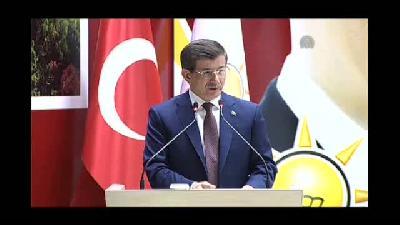 Davutoğlu: ''6-7 Ekim olayları sebebiyle ortaya çıkan yeni bir durum söz konusu oldu'