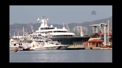 Rus iş adamının lüks yatı Marmaris'te - MUĞLA