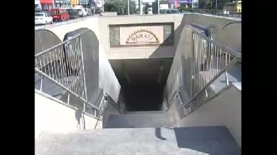 İstanbul metrosunda kaza