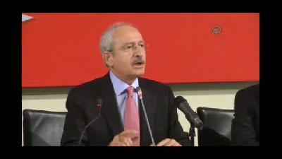 """Kılıçdaroğlu: """"Demokrasi sadece sandıktan ibaret değildir"""" - ANKARA"""