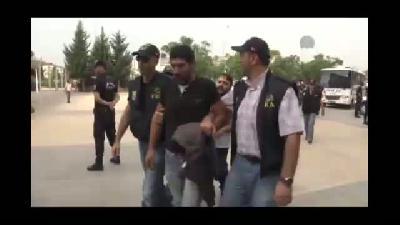 IŞİD bahanesiyle yapılan izinsiz gösteriler - ANTALYA