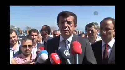 Ekonomi Bakanı Zeybekci - Irak ve Suriye'ye yapılan ihracat - DENİZLİ