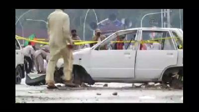 Pakistan'da hükümet binasını işgal - İSLAMABAD