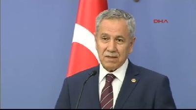 Başbakan Yardımcısı Bülent Arınç, Bakanlar Kurulu Sonrası Konuştu