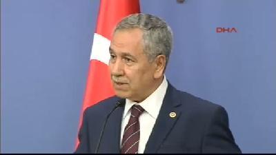 Başbakan Yardımcısı Bülent Arınç, Bakanlar Kurulu Sonrası Konuştu - Siirt'teki Baraj Faciası