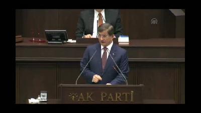 """Davutoğlu: """"Bizim için her can azizdir"""" - TBMM"""