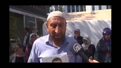 Çocukları kaçırılan aileler Ankara'ya gitme kararı aldı - DİYARBAKIR