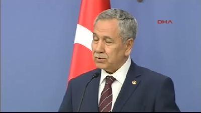 Başbakan Yardımcısı Bülent Arınç, Bakanlar Kurulu Sonrası Konuştu - Çözüm Süreci