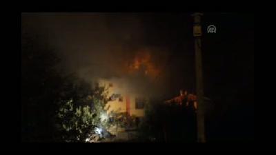 Yangında  anne ve 3 çocuğu öldü, baba tedavi altında - KARAMAN