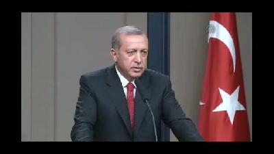 """Erdoğan: """"Burası duygusallığı taşıyan bir yer değildir"""" - ANKARA"""