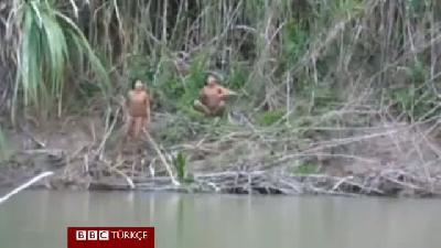 Amazon kabilesinin dış dünyayla ilk teması