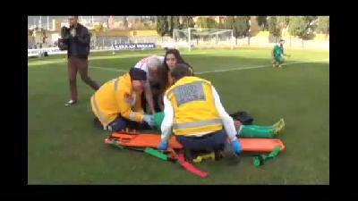 Sahada kalp krizi geçiren futbolcuya müdahale tatbikatı - MUĞLA