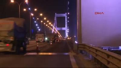- Fsm Köprüsü'ndeki 'kedi Yolu' Çalışmaları Başladı