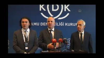 Avrupa Konseyi İnsan Hakları Temsilcisi Muiznieks'in basın toplantısı - ANKARA
