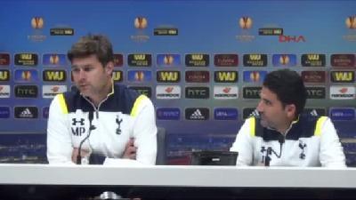 Tottenham Teknik Direktörü Pochettıno: Beşiktaş Çok Güçlü Bir Ekip. Yarın Çok Önemli Bir Maça Çıkaca