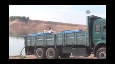 Göksu Barajı'na 150 bin yavru balık bırakıldı