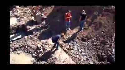 Duvar kalıntısı, inşaatı durdurdu - SİVAS