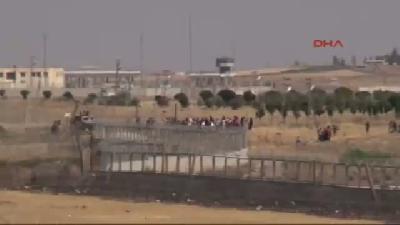 2- Işid Saldırı Düzenledi, Kamışlılar Nusaybin Sınırına Akın Etti