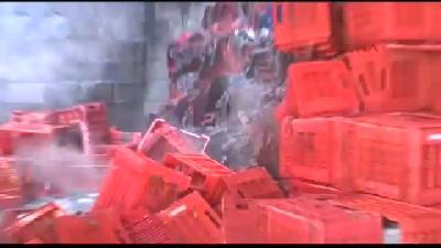 Plastik Kasa Deposunda Yangın