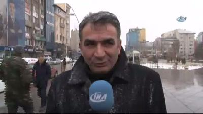 Erzurum'da Kar Ve Buzlanan Yollar Trafik Kazalarina Neden Oldu