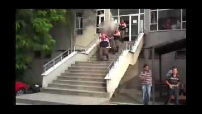 Ereğli'de fırında çıkan silahlı kavga - ZONGULDAK