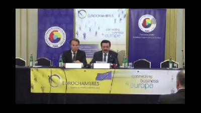 Hisarcıklıoğlu, 'İş Dünyası AB Genişleme Sürecine Nasıl Katkı Sağlar'' konferansına k