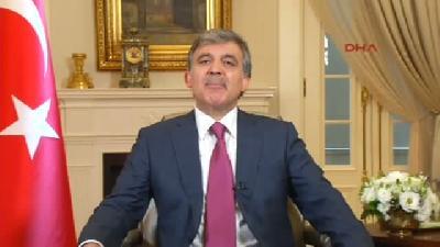 3// Cumhurbaşkanı Abdullah Gül'den Veda Mesajı