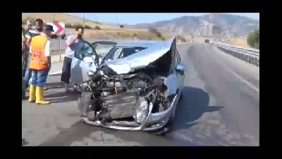 Taşova'da trafik kazası: 4 yaralı - AMASYA