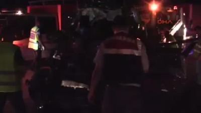Bursa'da Zincirleme Trafik Kazası: 3 Ölü, 6 Yaralı
