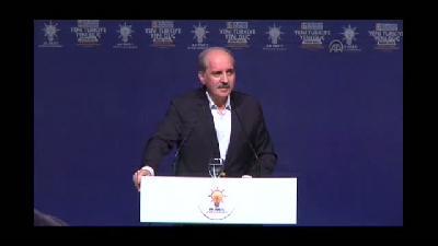 AK Parti Beyoğlu 5. Olağan İlçe Kongresi - Başbakan Yardımcısı Kurtulmuş - İSTANBUL