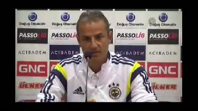 Trabzonspor-Fenerbahçe maçının ardından - İsmail Kartal - TRABZON