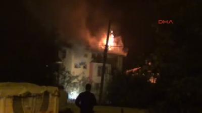 Karaman'da Yangın Faciası: Anne Ve 3 Çocuğu Öldü (4)