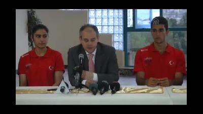 Yaz Gençlik Olimpiyat Oyunları'na doğru - Bakan Kılıç, sporcularla yemek yedi - İSTANBUL