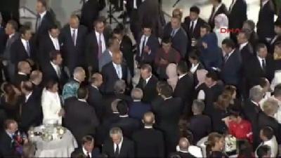 (grüntülü Haber) 3 Çankaya Köşkü'nde Cumhurbaşkanı Erdoğan'ın Ev Sahipliğinde İlk Resepsiyon Gerçekl