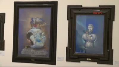 (görüntülü Haber) Ressam İncedayı, Roma Ve İstanbul'u Buluşturdu