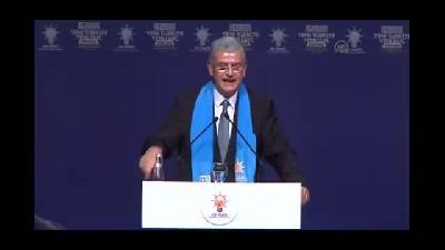 AK Parti Beyoğlu 5. Olağan İlçe Kongresi - AB Bakanı Bozkır - İSTANBUL