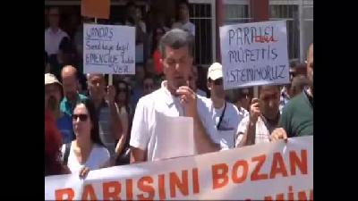 Tunceli'de Eğitim-sen'den Protesto