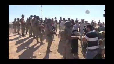 Çatışmalardan kaçan Suriyelilerin Türkiye'ye girişi sürüyor (2) - ŞANLIURFA