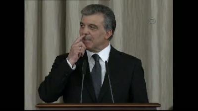 Cumhurbaşkanı Gül'den veda resepsiyonu (1) - ANKARA