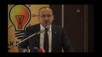 """Akdoğan: """"Dün PYD'yi nasıl görüyorsak bugün de öyle görüyoruz"""" - ANKARA"""