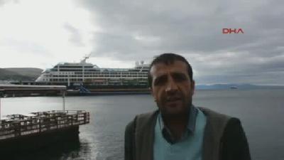 Gemi İle Gelen Turistler Dikili'ye Uğramadan Bergama'ya Taşındı