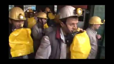 """""""Gaz maskesi"""" tatbikatı sırasında iki madenci bayıldı - ZONGULDAK"""